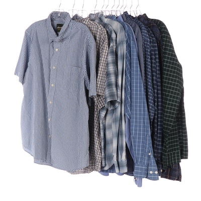 Men's Eddie Bauer Short and Long Sleeve Button-Up Shirts