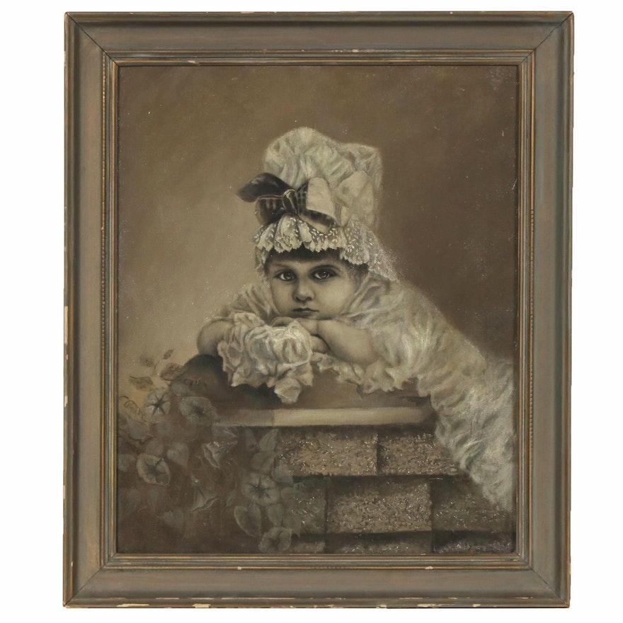 Oil Portrait of a Child