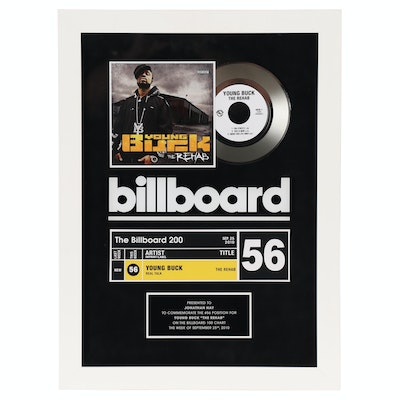 """Young Buck"" The Billboard 200 Music Award, 2010"