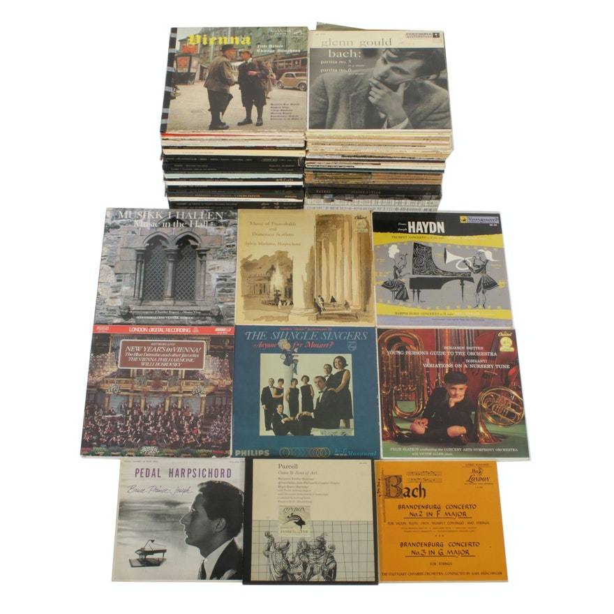 Mozart, Bach, Handel, Schubert, and Other Classical Records
