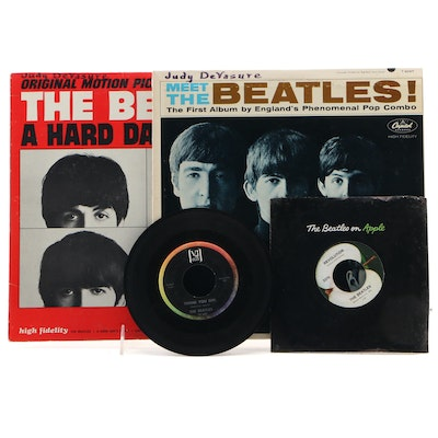 Meet the Beatles, Hard Days Night and Other Beatles Records