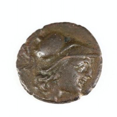 Ancient Samothrace, Island Near Thrace, AE19 Coin, ca. 280 B.C.