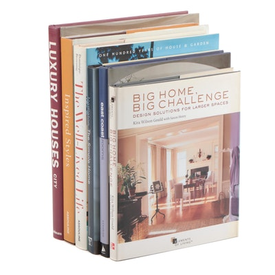 "Interior Design Books Including ""The Simple Home"" by Sarah Nettleton, 2007"