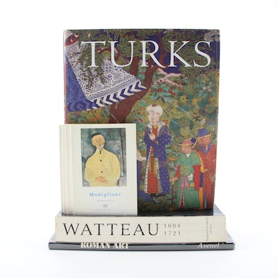 "First Edition ""Turks: Journey of a Thousand Years, 600–1600"" with More Art Books"