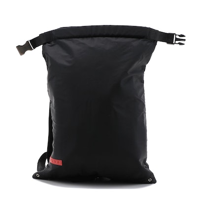 Prada Sport Black Nylon Backpack