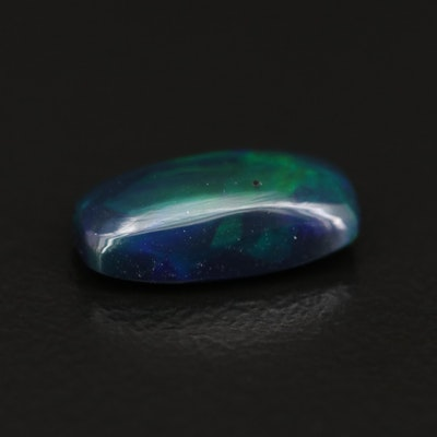 Loose 1.36 CT Rectangular Opal Cabochon