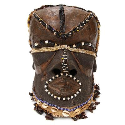 """Kuba """"Bwoom"""" Helmet Mask, Democratic Republic of the Congo"""