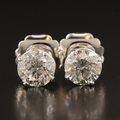 14K 3.12 CTW Diamond Stud Earrings