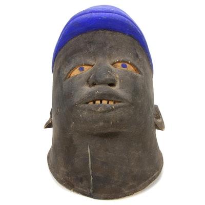 "Makonde ""Lipiko"" Style Helment Mask, East Africa"