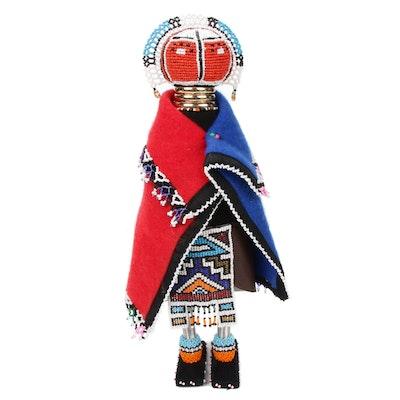 Ndebele Beaded Fertility Doll, Zimbabwe