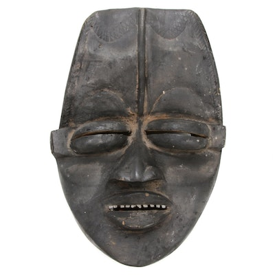 Dan-Guere Style Carved Wood Mask, West Africa