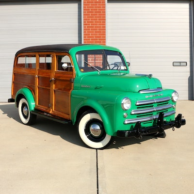 "1949 Dodge B1B Commercial ""Woody"" Station Wagon"