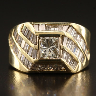 18K 3.68 CTW Diamond Ring
