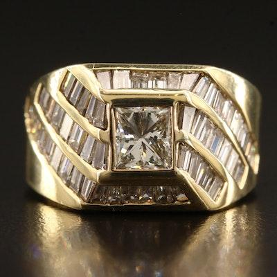 18K 3.68 CTW Diamond Ring