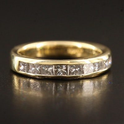 18K 1.48CTW Channel Set Diamond Band