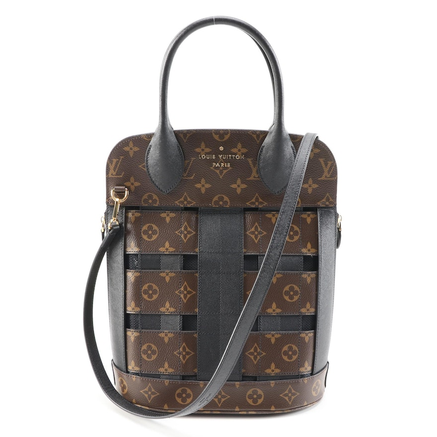 Louis Vuitton Tressage Tote in Monogram and Leather