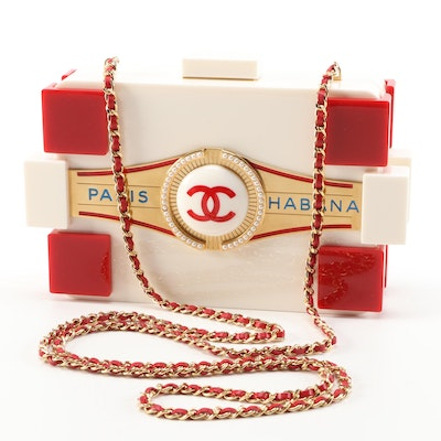 Chanel Limited Edition Paris-Habana By Night Boy Brick Bag