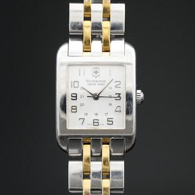 Victorinox Swiss Army Two Tone Stainless Steel Quartz Wristwatch