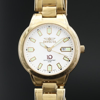 Invicta 10 Collection Cyrus Stainless Steel Quartz Wristwatch