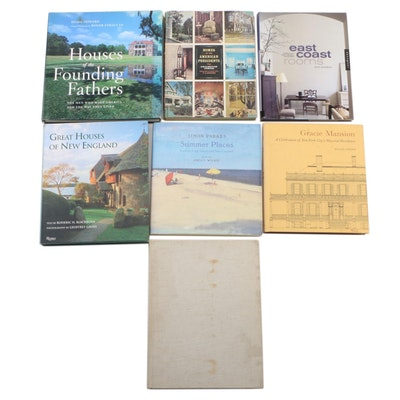 "Signed First Edition ""Summer Places"" by Angus Wilkie with Other Design Books"
