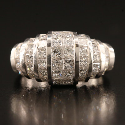18K 2.13 CTW Diamond Ring
