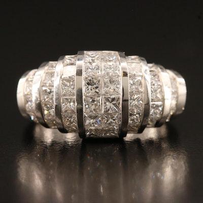 18K 2.13 CTW Diamond Ring