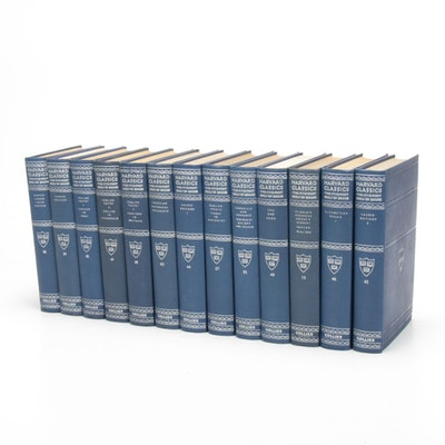 """Partial """"The Harvard Classics"""" Series Edited by Charles W. Eliot, 1909–1910"""