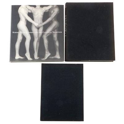Photography Books by Mapplethorpe, Helmut Newton and Horst