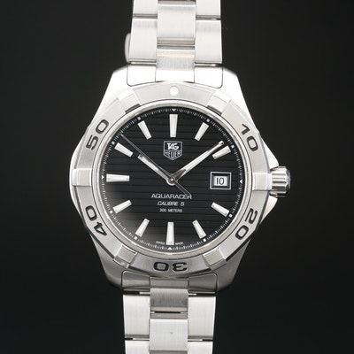 TAG Heuer Aquaracer 300M Stainless Steel Wristwatch with Date