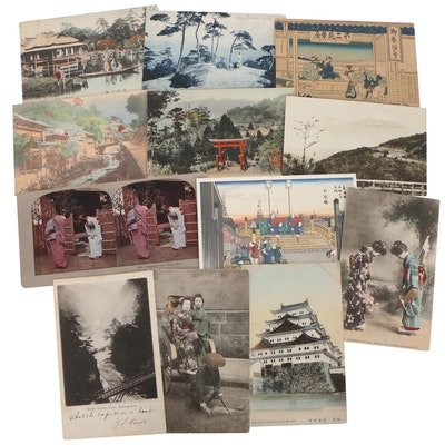Japanese Postcards, Early 20th Century