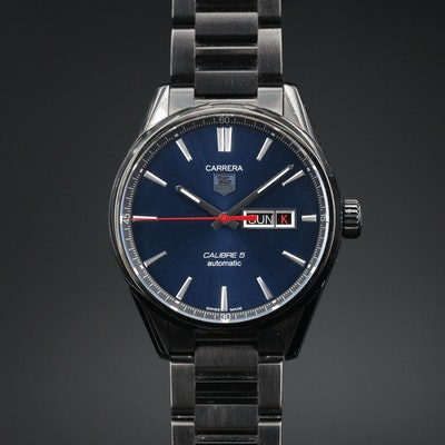 TAG Heuer Carrera Air-K4 Stainless Steel and Titanium Carbide Wristwatch