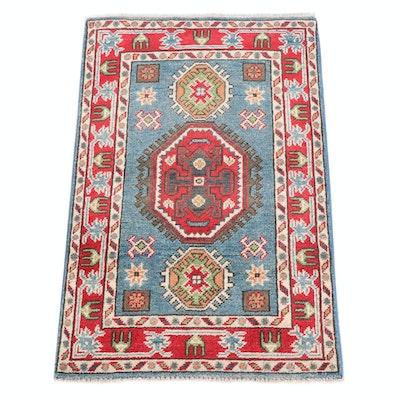 2' x 3'1 Hand-Knotted Afghani Persian Tabriz Rug
