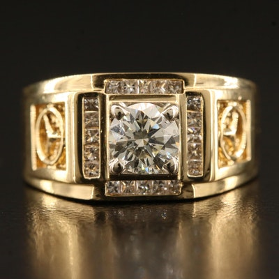 18K 1.02 CTW Diamond Ring