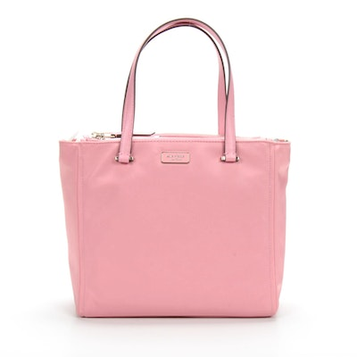 Kate Spade New York Nylon Medium Satchel in Dawn