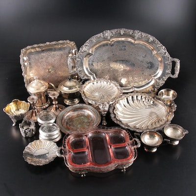 Sterling and Silver Plate Serveware