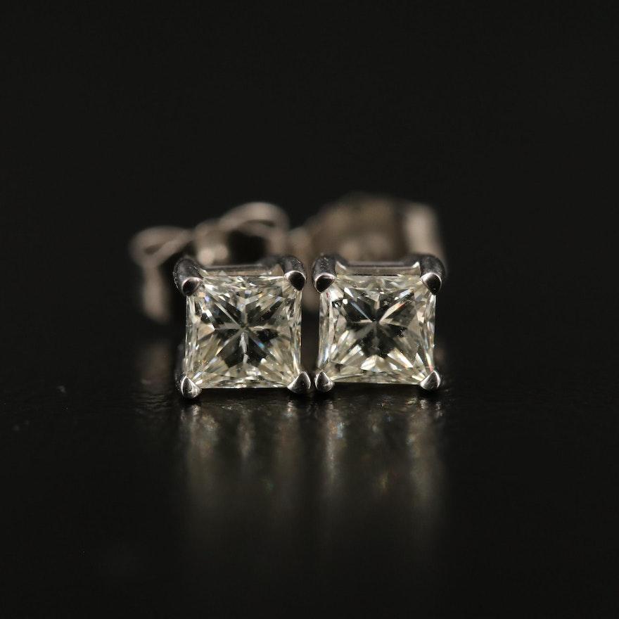 14K 0.66 CTW Diamond Stud Earrings