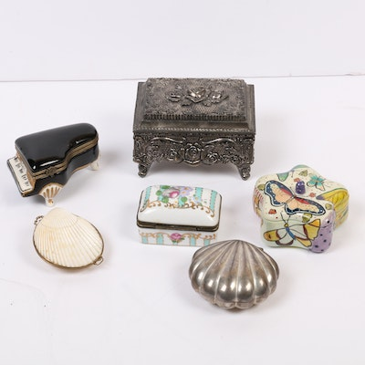 Limoges and Trinket Boxes, 20th/21st Century