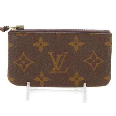 Louis Vuitton Zipper Coin Pouch in Monogram Canvas