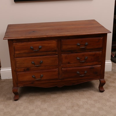 American Primitive Chest of Drawers, Early 20th Century