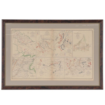 Maps of Operations of the Army of Virginia in 1862