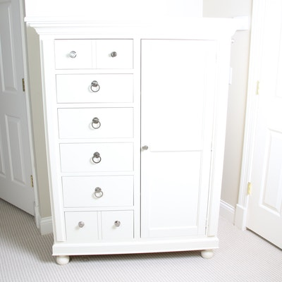 Broyhill Farmhouse Style Door Chest with Six Drawers, Late 20th Century