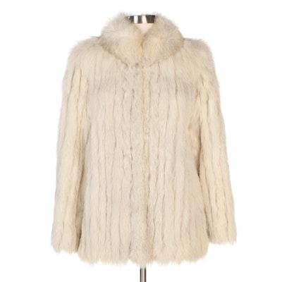 Saga Fox Fur Jacket from John Tauben