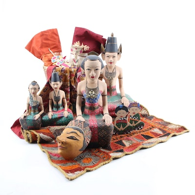 Indonesian Bride and Groom Figurines, Dolls, and More