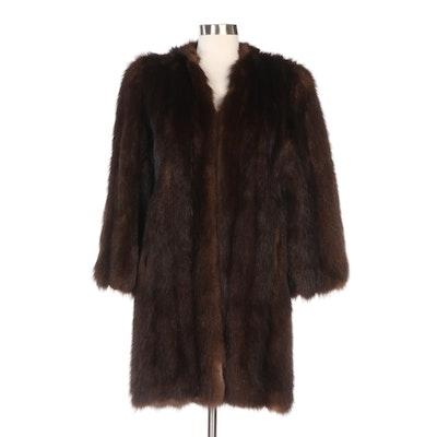 Beaver Fur Stroller from Faden's Furs, Vintage