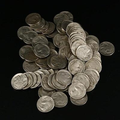 Eighty-Eight Buffalo Nickels, 1920 to 1938