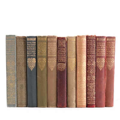 Everyman's Library Fiction and Nonfiction Books, Early 20th Century
