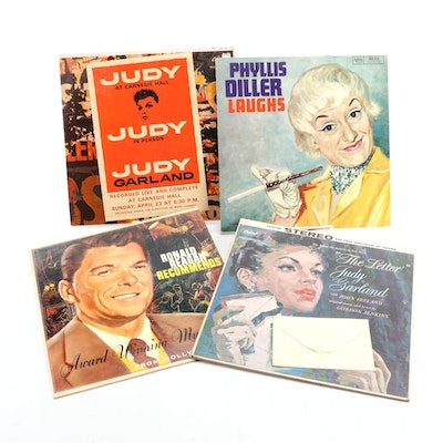 Jazz, Easy Listening, and Other Vinyl Records Including Judy Garland