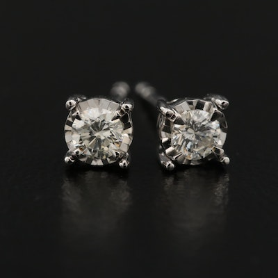 14K 0.24 CTW Diamond Stud Earrings