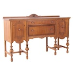 William and Mary Style Walnut Sideboard, circa 1930
