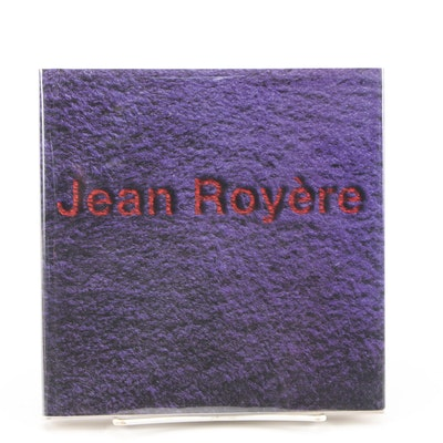 """French Edition """"Jean Royère"""" Exposition Hardcover Book, 1999"""